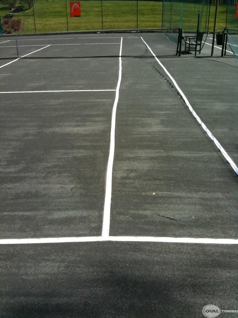Maintenance Oval Tennis