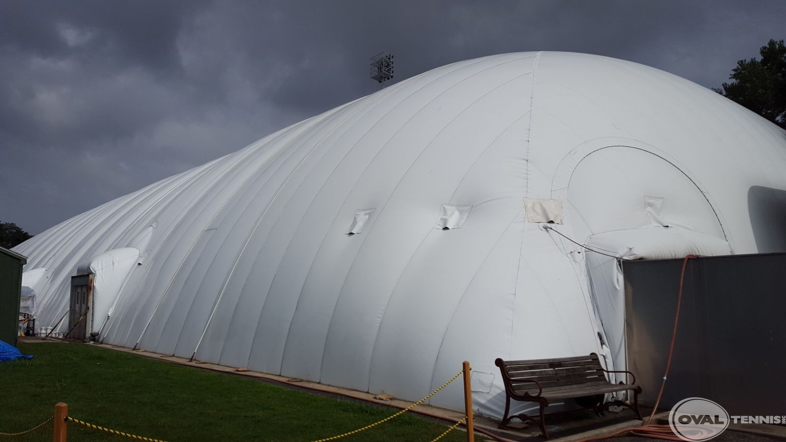 Tennis Court Air Structures And Domes Oval Tennis