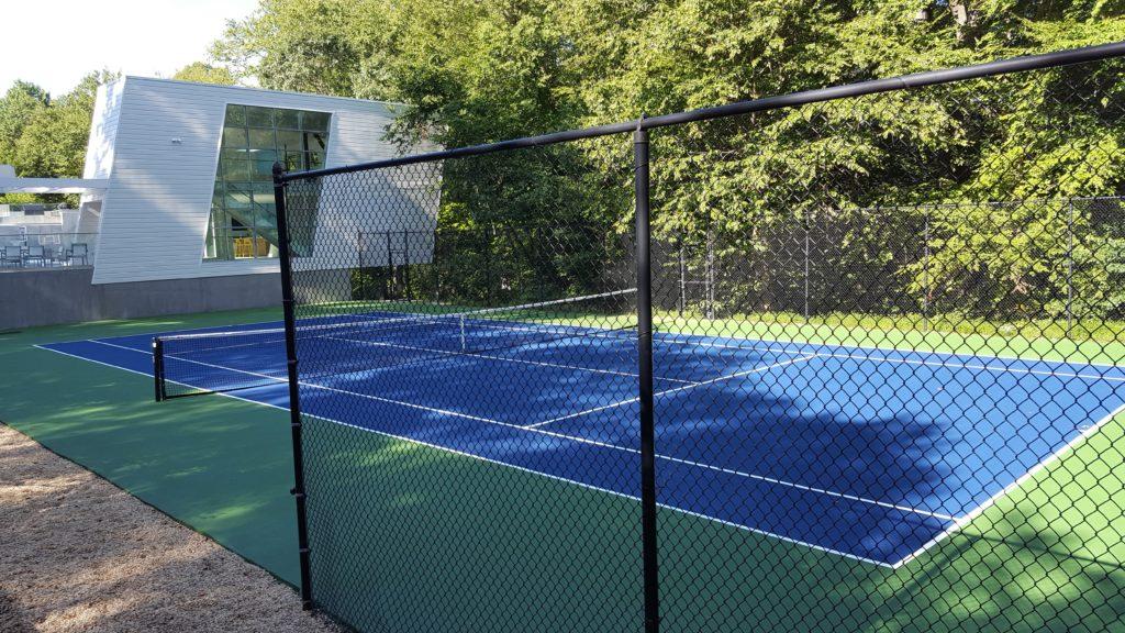 Tennis Court Design Oval Tennis